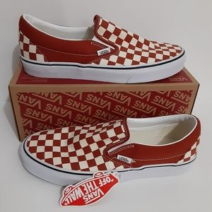 Vans Checkeredboard Slip-On Skateboard Shoes